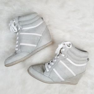 Charlotte Russe Bubble wedge sneakers